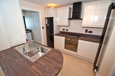 Refurbished Kitchen at Holborn Avenue house Bangor by JS Contracts and Property Rentals